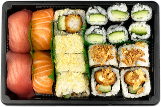 Foto Box 7 - Sushi Mix (18 st)